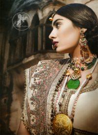 Designer Wear Dress – Off white Bridal Lehenga Choli