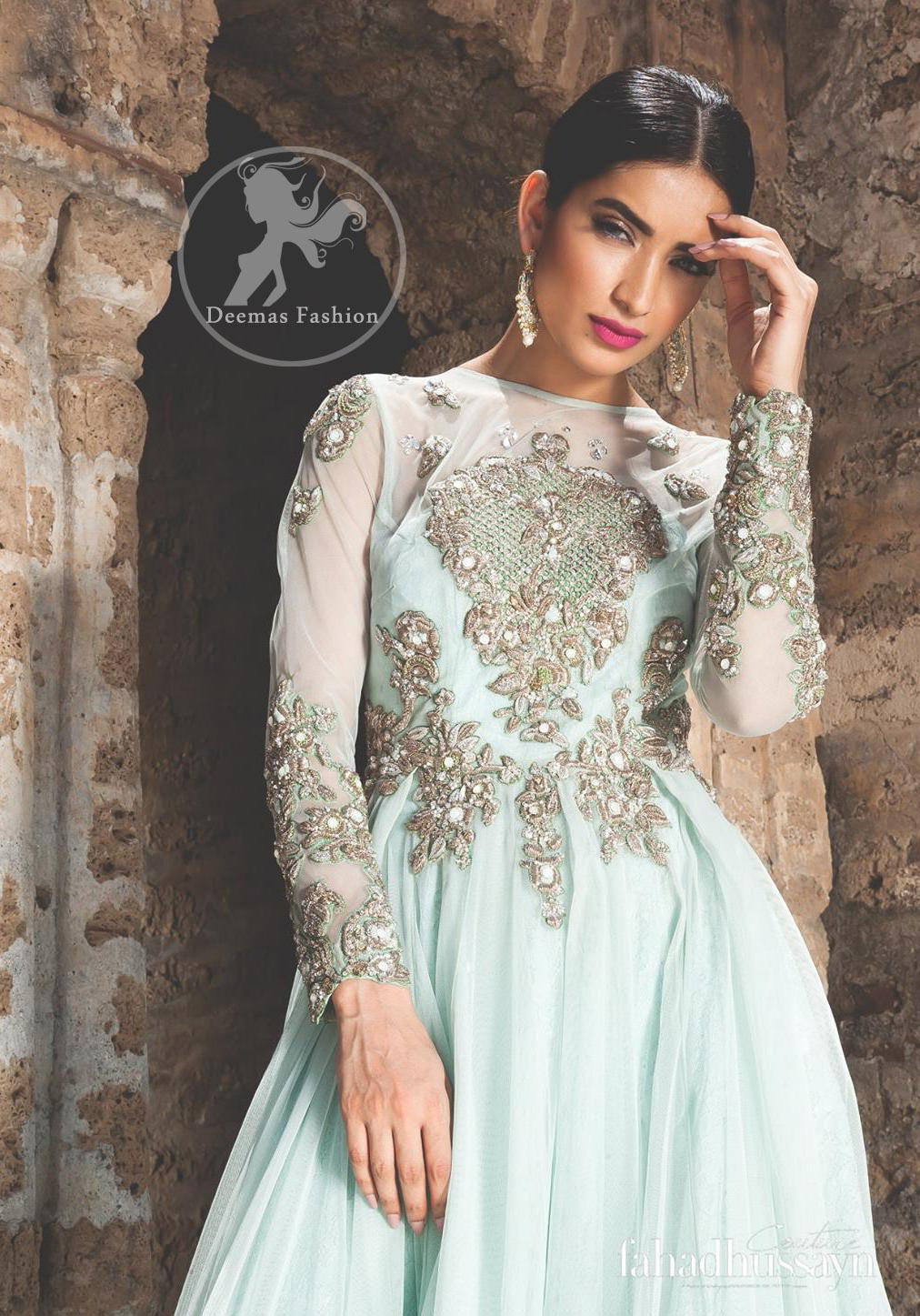 Pakistani Designer Maxi Dresses For Weddings Dacc
