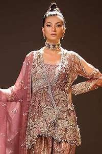 Latest Peplum Wedding Outfits Peplum Bridal Dresses Online 2020