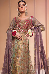 Light Purple Frock-Dupatta