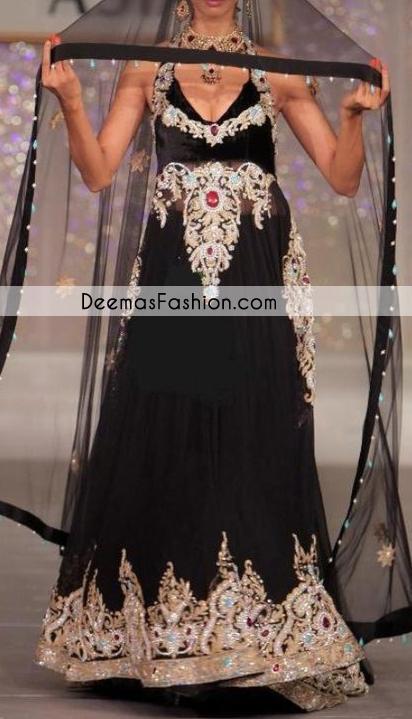 Black-heavy-formal-party-wear-pishwas-churidar1