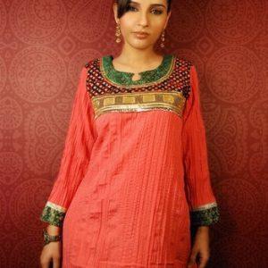 Latest Indian Kurta Trend – Pink Tunic Kurta