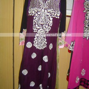 Latest Ladies Fashion - Dark Purple Casual Wear
