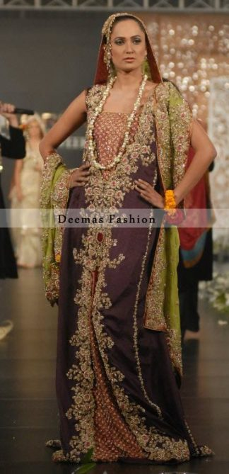Latest Pakistani Bridal Wear Dress