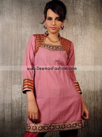 Indian Fashion Dress – Pink Kurti Wear