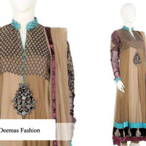 Multi Panel Anarkali Frock Churidar Dress