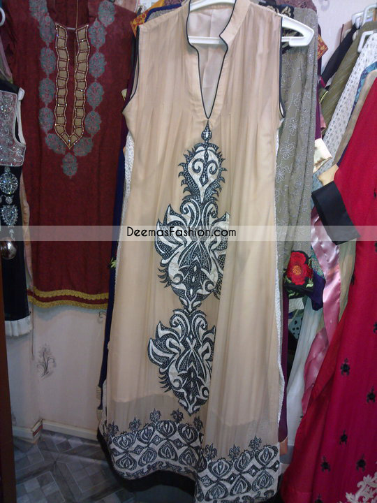 Pakistani Casual Wear Light Brown Designer Clothes