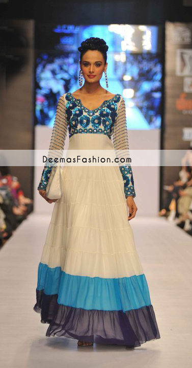 Pakistani Latest Fashion-Off-Whitepishwassdsd