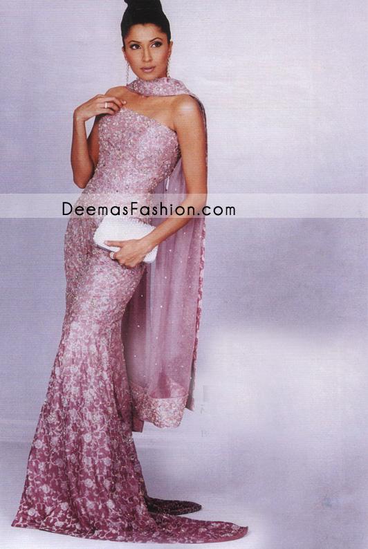 Pakistani Fashion – Pink Maroon Bridal Lehnga
