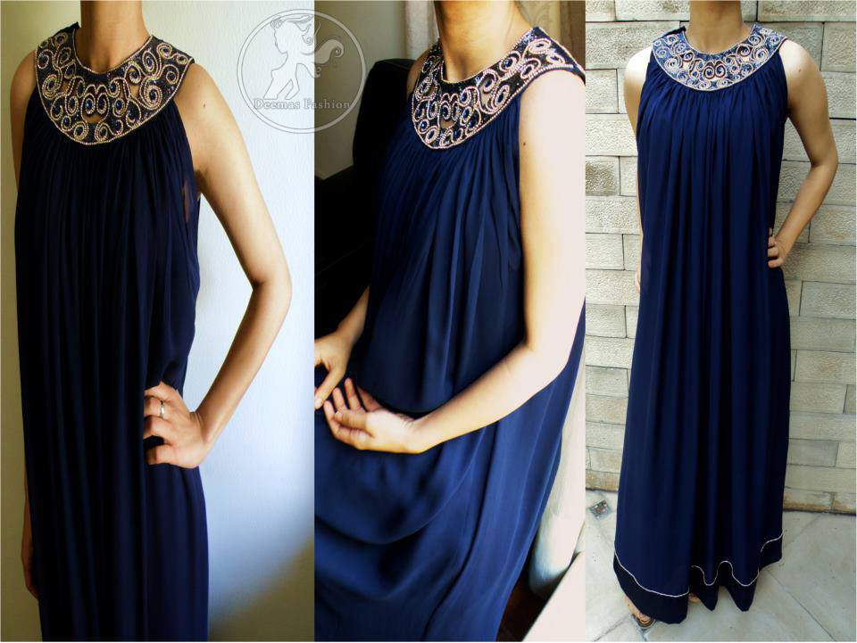 Royal-blue-casual-wear-frock