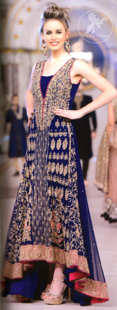 Royal-blue-heavily-embellished-back-trail-forck