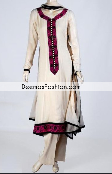 Beige Aline Casual Wear Dress
