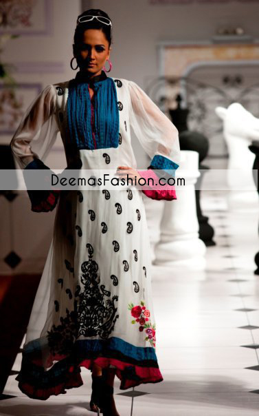 black-white-casual-wear-designer-dress1