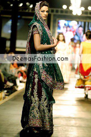 collte-green-heavy-formal-bridal-wear-sharara1