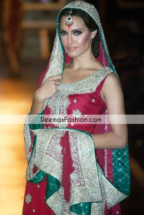 deep-red-heavy-bridal-wear-lehnga1
