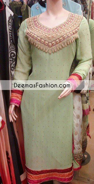 Light Green Casual Wear Dress