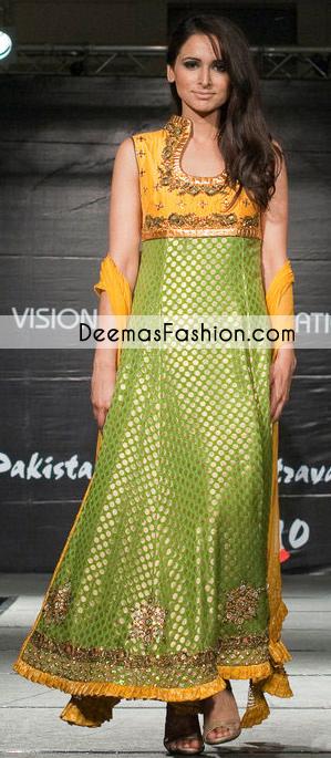 mehndi-green-golden-yellow-formal-bridal-dress1