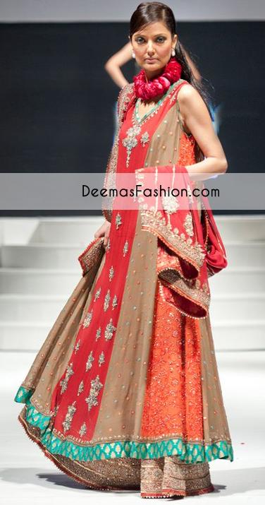 multi-color-aline-bridal-wear-frock-lehnga1