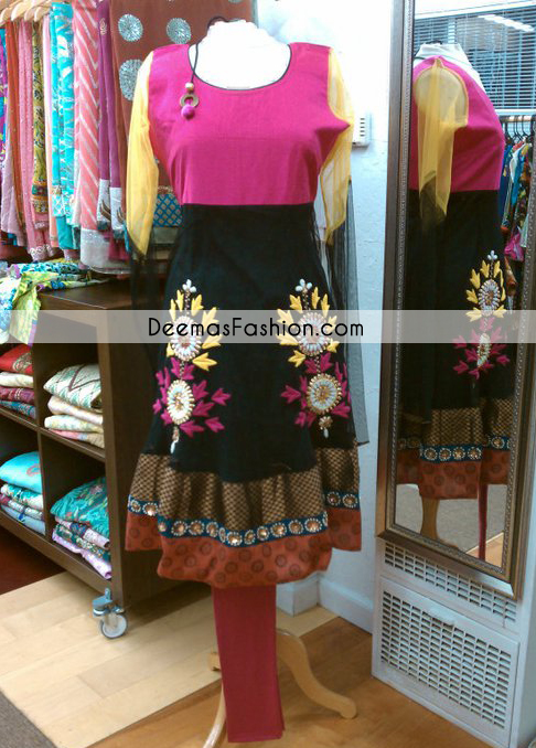 multi-coloranarkali-casual-wear-frock1