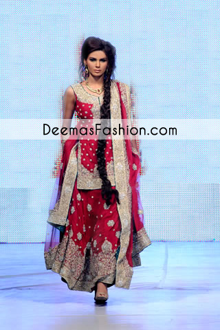 Red Bridal Heavy Lehnga