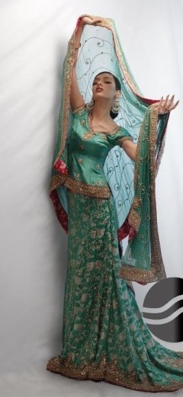 Sea Green Lehnga