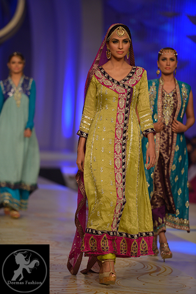 yellow-and-shocking-pink-andrakha-style-frock-and-churidar