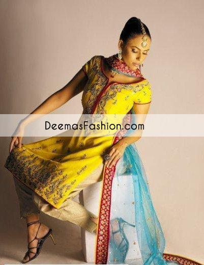 yellow-ferozi-mehndi-wear-shirt-trouser1